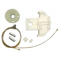 Window regulator repair kit rear left Jaguar S-Type 2002-2007